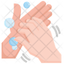 Hand Hygiene Virus Icon