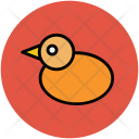Rubber Ducky Duckling Icon