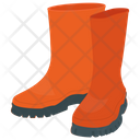 Rubber Boots Footwear Boots Icon