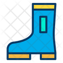 Boot Safety Shoeas Rubber Shoes Icon