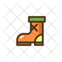 Rubber Boots Gardening Shoes Gardening Boot Icon