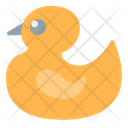 Rubber Duck Duck Kid And Baby Icon