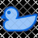Rubber Duck Bath Duck Quack Icon