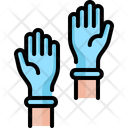 Rubber Gloves Healthcare And Medical Latex Icon
