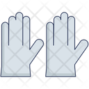 Rubber Gloves Protection Doctor Icon