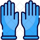 Cleaning Gloves Household Icon