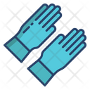 Rubber Gloves Latex Gloves Safety Gloves Icon