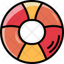 Rubber Ring Hobbies And Free Time Life Preserver Icon