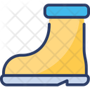 Rubber Boots Footwear Icon