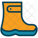 Rubber Shoes Boots Shoes Icon