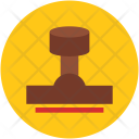 Rubber Stamp Office Icon