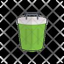 Basket Rubbish Recyclebin Icon