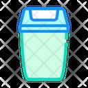 Rubbish Bin Color Icon