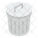 Rubbish Container Dustbin Garbage Can Icon