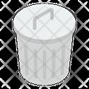 Rubbish Container Icon
