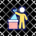 Unilization Disposal Garbage Icon