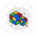 Cube Game Toy Icon