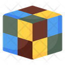 Rubik Puzzle Game Playhting Icon
