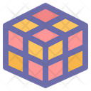 Rubik Game Cube Icon