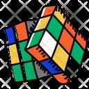 Cube Rubik Game Icon