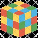 Rubik Cube 3 D Icon