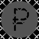 Ruble Symbol Sign Icon