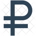 Business Financial Ruble Icon