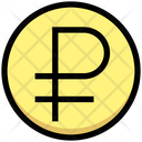 Ruble Coin Currency Icon