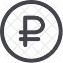 Ruble Money Currency Icon
