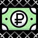 Ruble Cash Money Icon