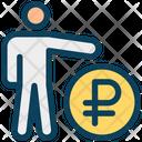 Ruble Account User Icon