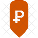 Ruble Exchange Map Icon