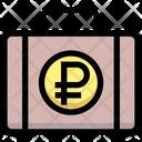 Ruble Briefcase Ruble Money Icon
