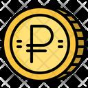 Ruble Coin Icon