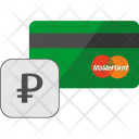 Ruble Credit Card Icon
