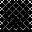Ruble Increase Ruble Up Arrow Increase Arrow Icon