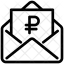 Ruble Letter Ruble Letter Icon