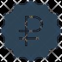 Ruble Tag Icon