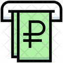 Ruble Withdrawal Icon