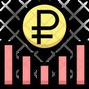Rublegraph Earning Graph Money Icon
