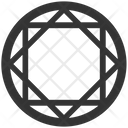 Ruby Emerald Diamond Icon