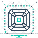 Ruby Crystal Sapphire Icon