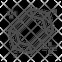 Ruby Diamond Stone Icon