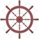 Steering Wheel Pirate Icon