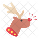 Rudolph Christmas Raindeer Christmas Icon