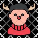 Rudolph Costume Rudolph Avatar Icon