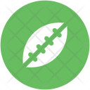 Rugby Ball Egg Icon