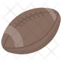 Rugby Rugby Ball Rugby Game Icon