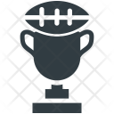 Rugby Trophy Tournament Icon