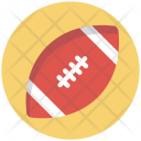 Rugby Ball Game Icon